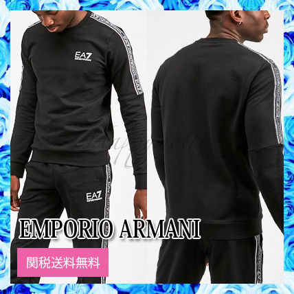 EMPORIO ARMANI EA7 Train Tapedスウェットシャツ