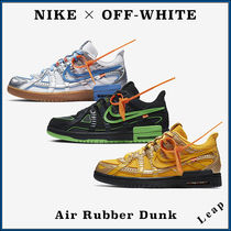 【Nike×OFF-WHITE】コラボ 全3色 オフホワイト Air Rubber Dunk