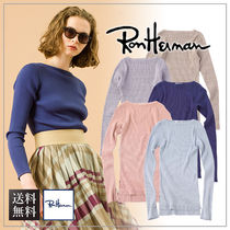 【送料無料】Ron Herman ロンハーマン Giza Boat Neck Top