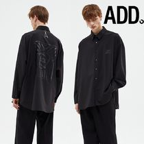 ★ADD SEOUL★POSTER AVANTGARDE SHIRT BLACK