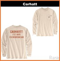 【Carhartt】FRFORCEORG FIT GRAPHIC TSHIRT◆長袖 グラフィック