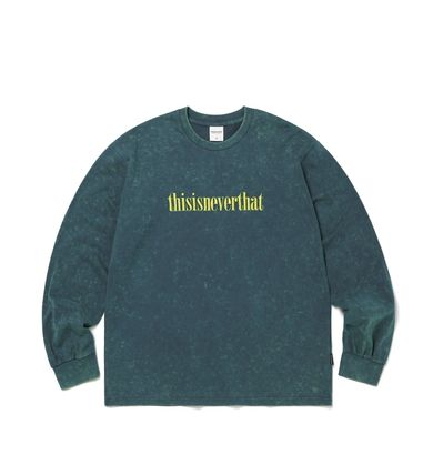 thisisneverthat Tシャツ・カットソー 【thisisneverthat】NiziU☆リマ着用 Acid washed L/SL Top 3色(2)
