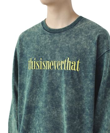 thisisneverthat Tシャツ・カットソー 【thisisneverthat】NiziU☆リマ着用 Acid washed L/SL Top 3色(6)