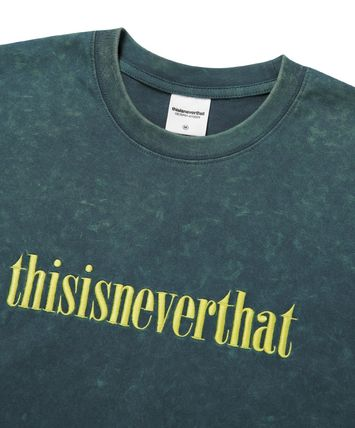 thisisneverthat Tシャツ・カットソー 【thisisneverthat】NiziU☆リマ着用 Acid washed L/SL Top 3色(7)