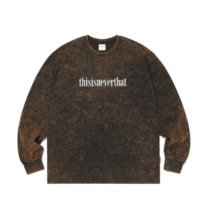 thisisneverthat Tシャツ・カットソー 【thisisneverthat】NiziU☆リマ着用 Acid washed L/SL Top 3色(9)