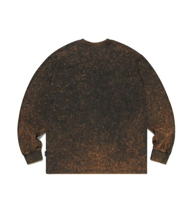 thisisneverthat Tシャツ・カットソー 【thisisneverthat】NiziU☆リマ着用 Acid washed L/SL Top 3色(10)