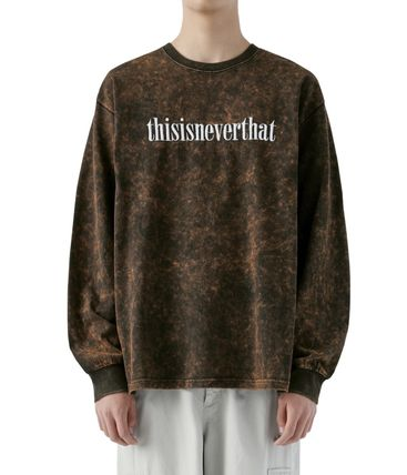 thisisneverthat Tシャツ・カットソー 【thisisneverthat】NiziU☆リマ着用 Acid washed L/SL Top 3色(11)