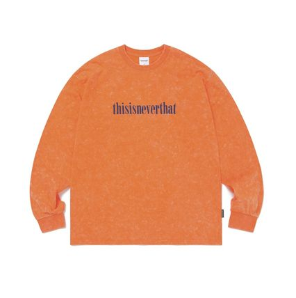 thisisneverthat Tシャツ・カットソー 【thisisneverthat】NiziU☆リマ着用 Acid washed L/SL Top 3色(14)