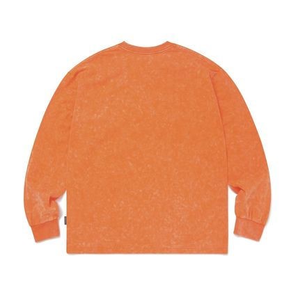 thisisneverthat Tシャツ・カットソー 【thisisneverthat】NiziU☆リマ着用 Acid washed L/SL Top 3色(15)