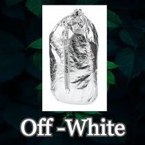 ★SALL☆【OffWhite】ロゴ入り バックパック&ヒップバッグ