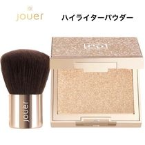 Jouer(ジュエ) フェイスパウダー ☆セット☆ JOUER Molten Glow All Over Highlighterとブラシ