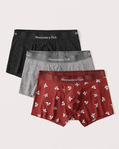 Abercrombie & Fitch 新商品 ロゴ ボクサーパンツ 3枚セット