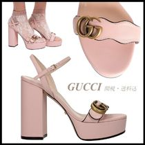 *GUCCI*Platform sandal with Double G 関税・送料込