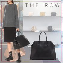 【THE ROW】Margaux 17 leather tote 498439