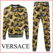 VERSACE バロックプリントセットアップ トップス&パンツ 送込