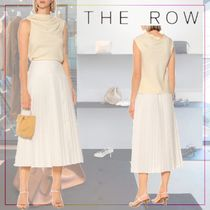 【THE ROW】Tuma gathered cady top 469085