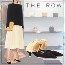 【THE ROW】Coco suede mules