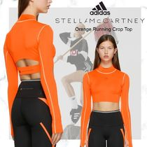 adidas by Stella McCartney(アディダスバイステラマッカートニー) レディース・トップス NEW【adidas by Stella McCartney】Orange Running Crop Top