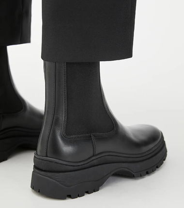 """""""ARKET"""" Chunky Leather Boots Black"""