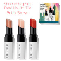 ホリデー☆Bobbi Brown☆SHEER INDULGENCE EXTRA LIP TINT TRIO