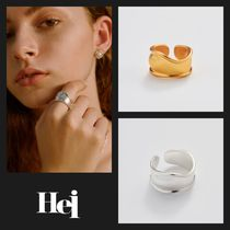 【Hei】20fw warm tone ring (gold/white)