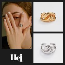 【Hei】20fw classic bold ring (gold/white)