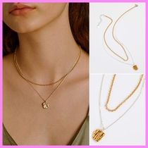 【Hei】combi layered necklace〜コンビレイヤードネックレス