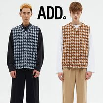★ADD SEOUL★HOUNDSTOOTH VEST 2色