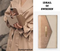 iDeal of Sweden☆GOLDEN PEBBLED 手帳型スマホケース