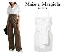 関税・送料込Maison Margiela☆Convertible cotton-poplin shirt