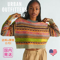 Urban Outfitters(アーバンアウトフィッターズ) ニット・セーター Urban outfitters  ペニーパッチワーク クロップド セーター