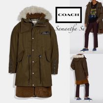大人気【COACH】US正規買 Shearling Convertible Parka★メンズ