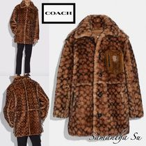 売切寸前★大人気【COACH】US正規買 Signature Shearling Coat