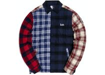 20 FW 2020 Kith Murray Quilted Shirt Jacket Plaid/Multi
