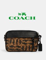 ★  COACH ★ Graham Crossbody In Signature Canvas With Rexy