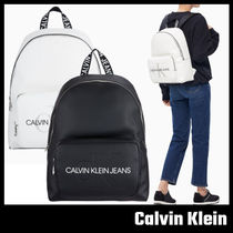 【Calvin Klein JEANS】モノグラム バックパック