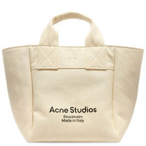 Acne Studios  ALISSE CANVAS SHOPPERバッグ