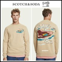 20-21AW新作☆Scotch & Soda☆ Printed long sleeve sweatshirt