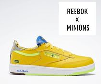 ☆Reebok キッズ Club C 85 Shoes イエロー 国内発送 正規品!