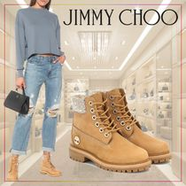 【JIMMY CHOO】xTimberland Premium 6ankle boots 515102