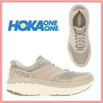 ☆送料関税込☆HOKA ONE ONE 最新 Leather mesh BondiL sneakers