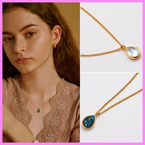 【Hei】water drop pendant necklace〜ネックレス★2020秋冬コレ