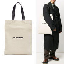 ★関税込み【JIL SANDER】FLAT CANVAS TOTE BAG