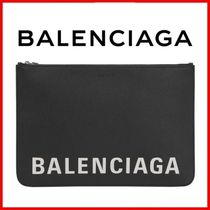 ◆BALENCIAGA◆Cash logo clutch bag◆正規品◆