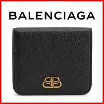 ◆BALENCIAGA◆BB flap coin/card wallet 折りたたみ財布◆