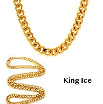 送料込 King Ice 8mm 14K Gold Miami Cuban Curb Chain