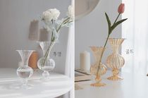 【carda】Fleur Antique Glass Vase