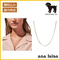 【ana luisa】JO チェーンネックレス◆国内発送◆