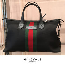 【GUCCI OUTLET 新品】TECHNOCANVAS DUFFLE BAG  ダッフルバッグ