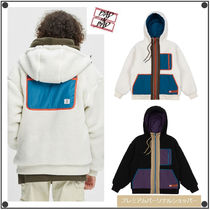 日本未入荷BADINBADのCOLOR BLOCK FLEECE JACKET 全2色